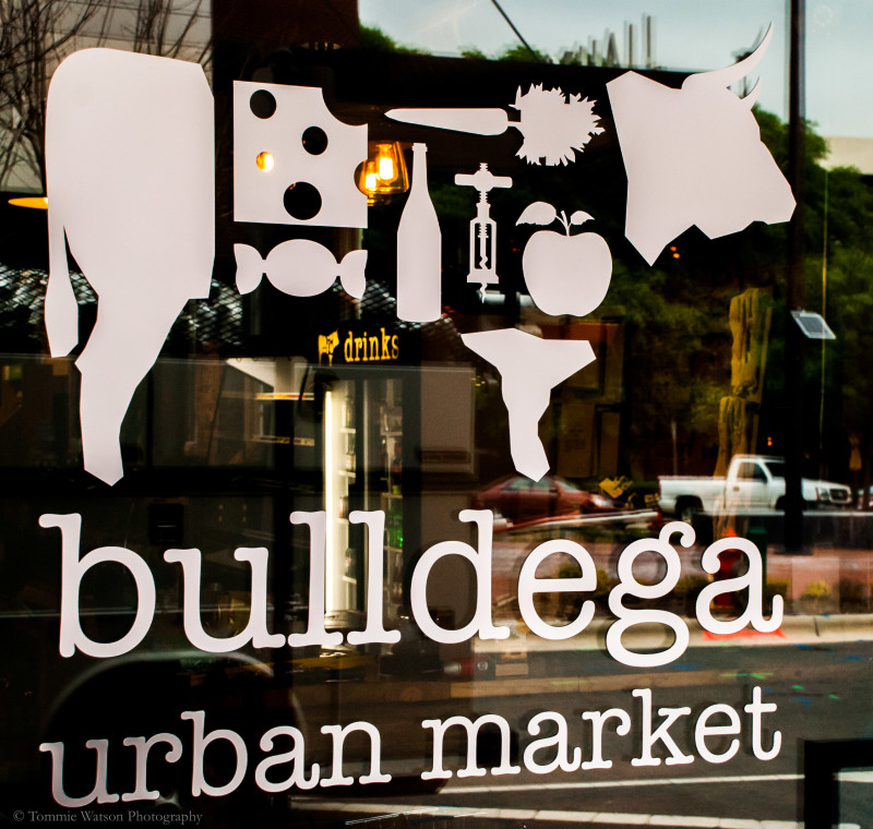 Bulldega urban market
