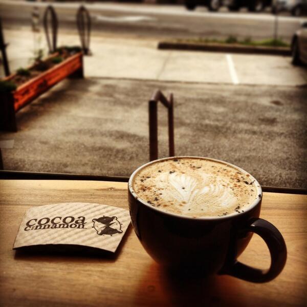 Coffee at Cocoa Cinnamon