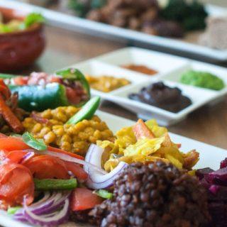 Ethiopian food in Durham www.BitesofBullCity.com