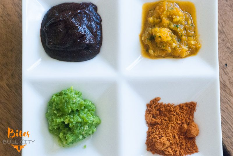 Ethiopian spices and sauces www.BitesofBullCity.com
