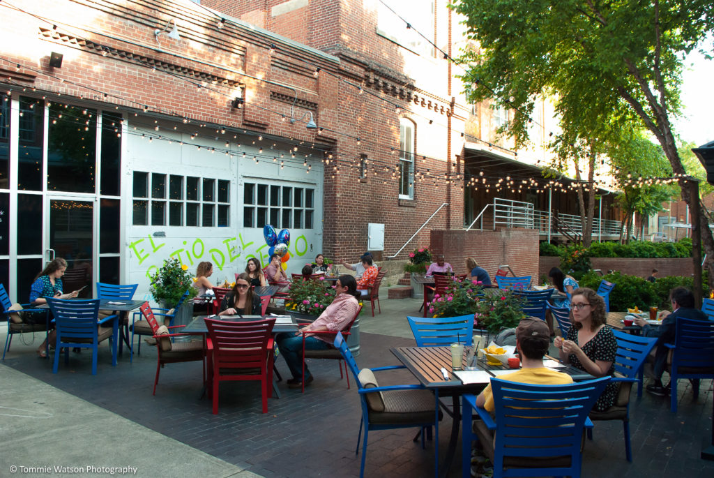 Gonza outdoor patio Durham
