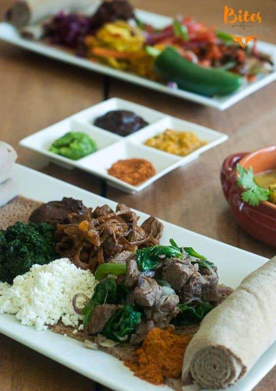 Ethiopian food www.BitesofBullCity.com