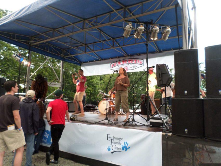Music festival Durham