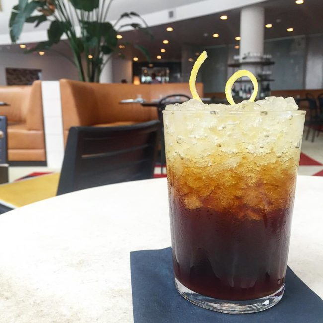 coffee soda at The Durham Hotel