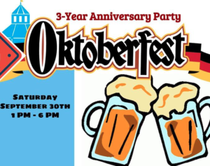 3 Year Anniversary Party Oktoberfest @ The Glass Jug | Durham | North Carolina | United States