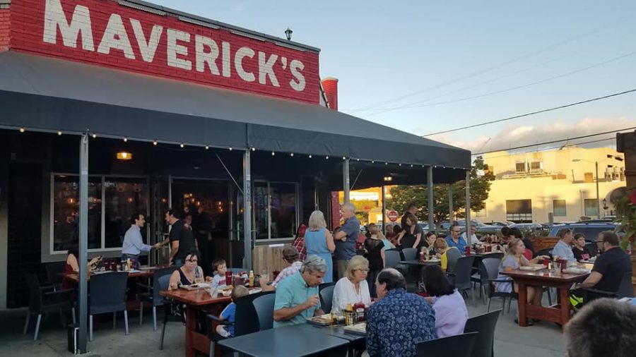 Maverick's Smokehouse Sets Up on W. Main Street