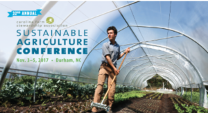 Sustainable Agriculture Conference @ Sheraton Imperial Hotel and Convention Center | Durham | North Carolina | United States
