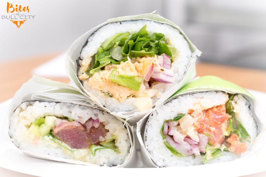 Now Open: Sushiōki Burritos in Durham