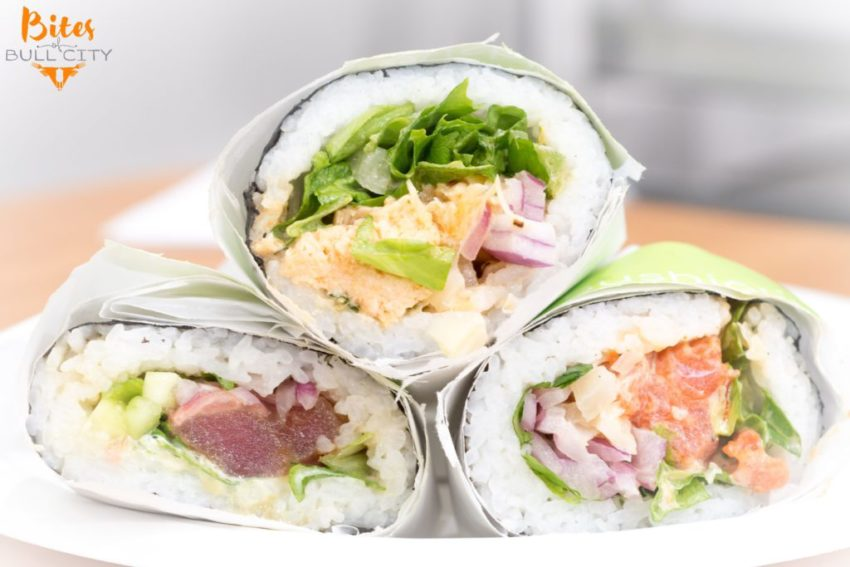 Now Open Sushiōki Burritos In Durham Bites Of Bull City